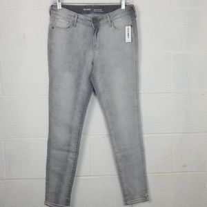 Old Navy Rockstar jeans Gray NWT